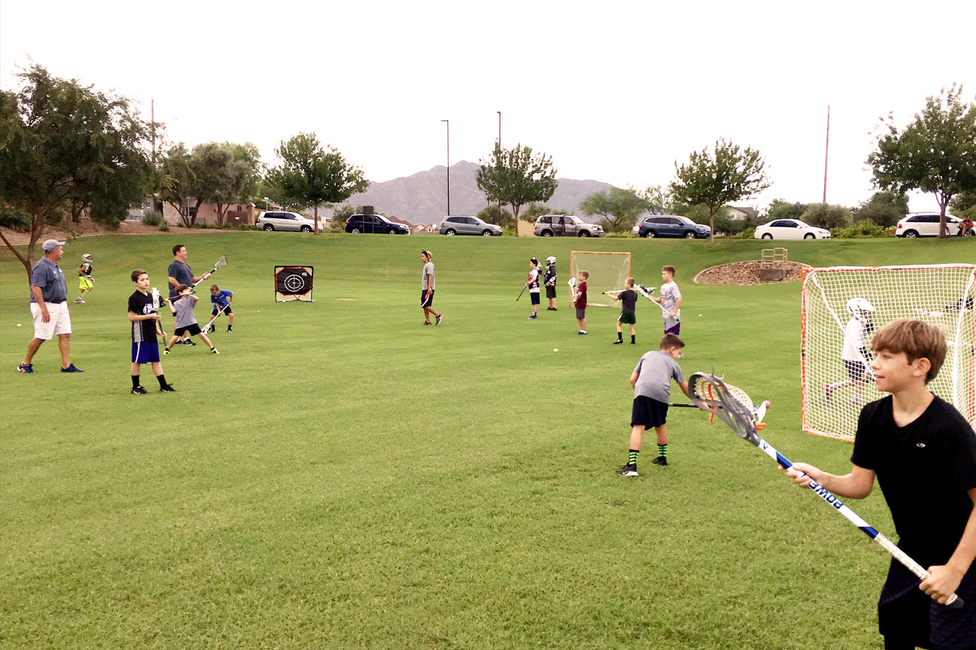 Great Turnout for Chandler's Youth Lacrosse Clinic