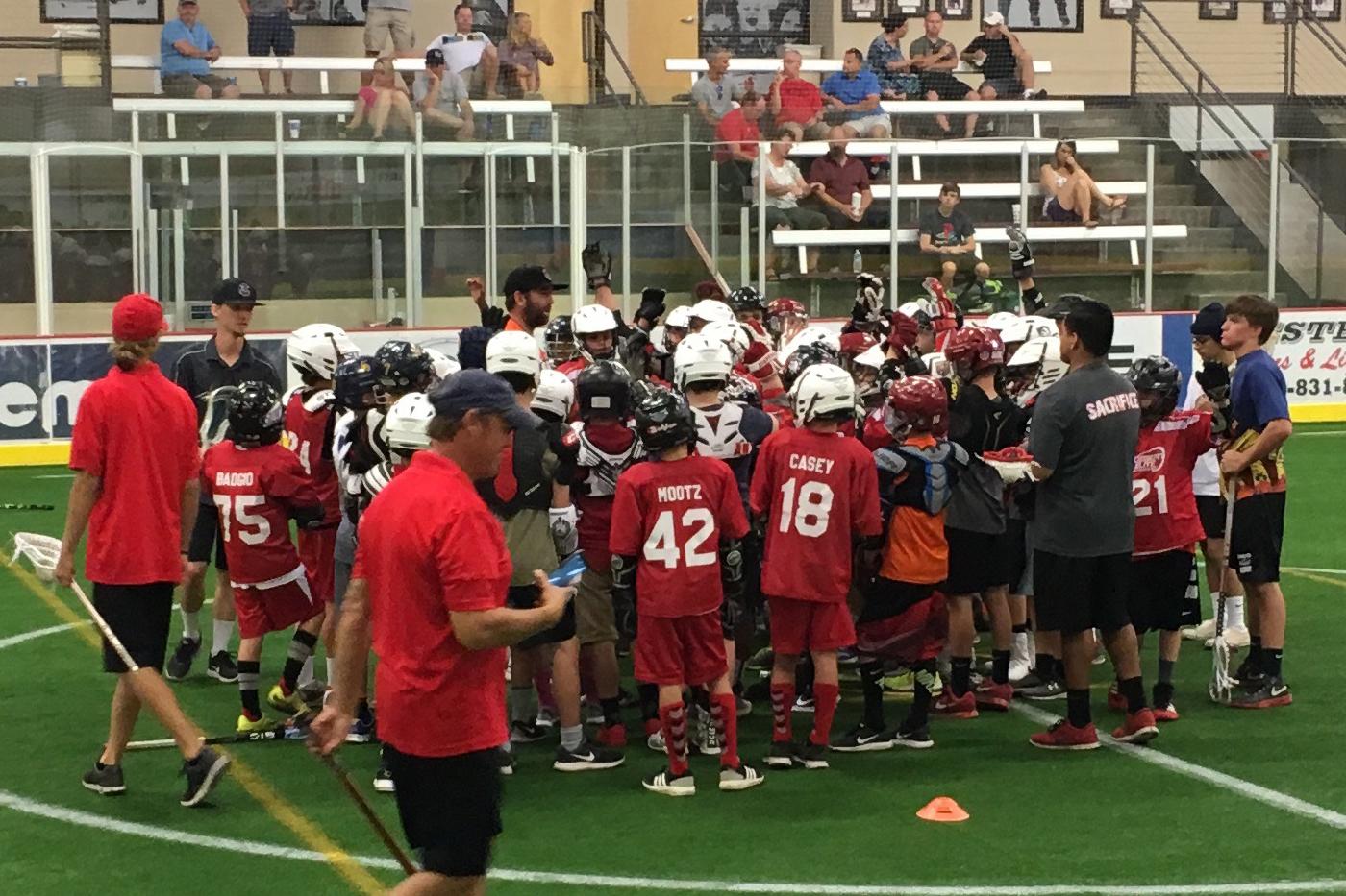 Ryan Powell Lacrosse Clinic