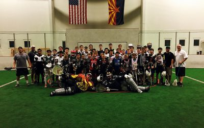 East Valley box lacrosse